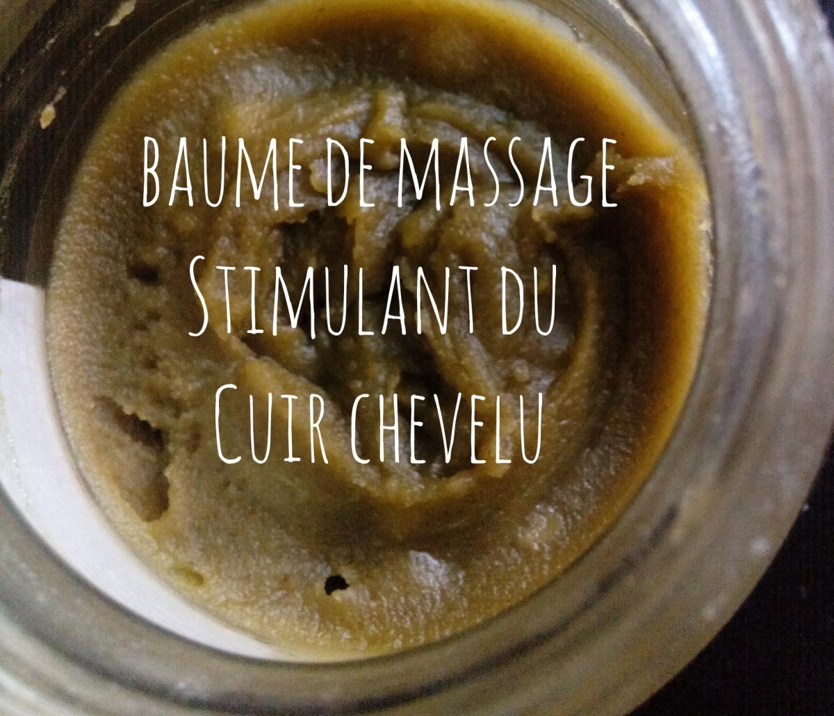 Baume de massage stimulant du cuir chevelu